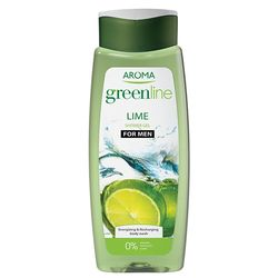 Crema de dus GREEN LINE Lime For Men 400ml