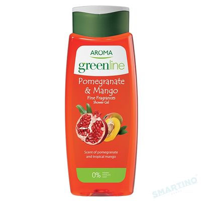 Gel de dus GREEN LINE Pomegranate&Mango 400ml