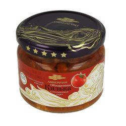 """Gingirica afumata in sos de tomate 280gr """"Amberfish"""" borcan sticla"""