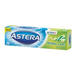 Pasta de dinti ASTERA ACTIV + Herbal Care 100ml