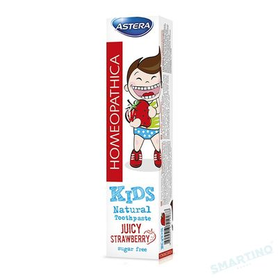 Pasta de dinti Astera Homeopathica Kids 50 ml