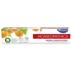 Pasta de dinti Astera Homeopathica Natural 75 ml