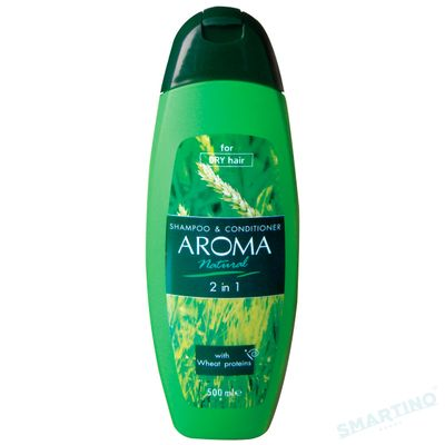 Sampon AROMA NATURAL 2 in 1 500ml