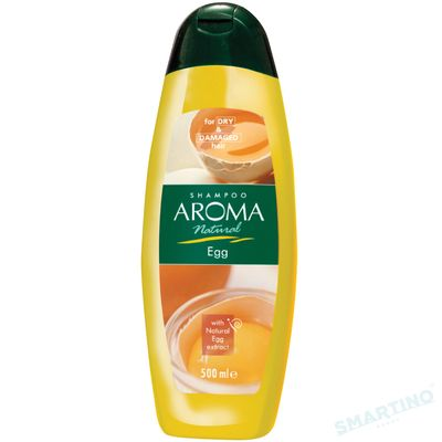 Sampon AROMA NATURAL Egg 500ml