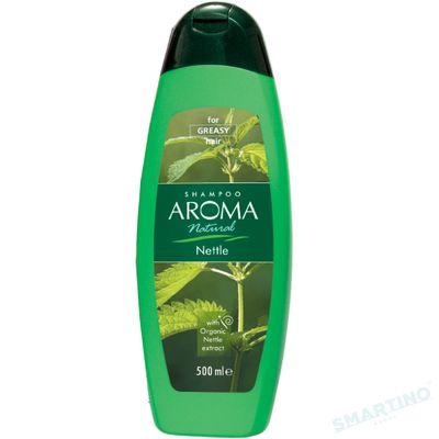 Sampon AROMA NATURAL Nettle (p/u par gras) 500ml