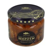 "Sprote in sos de tomate 280gr ""Amberfish"" borcan sticla"
