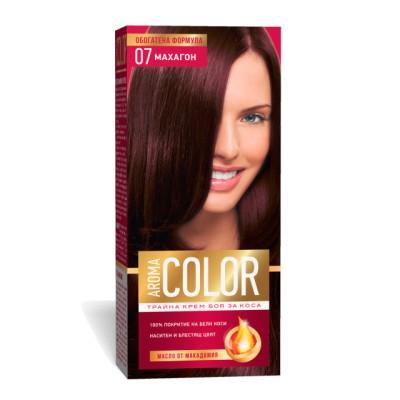 Vopsea pentru par AROMA Color 07 (mahon) 45 ml