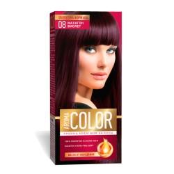 Vopsea pentru par AROMA Color 08 (mahon violet) 45 ml