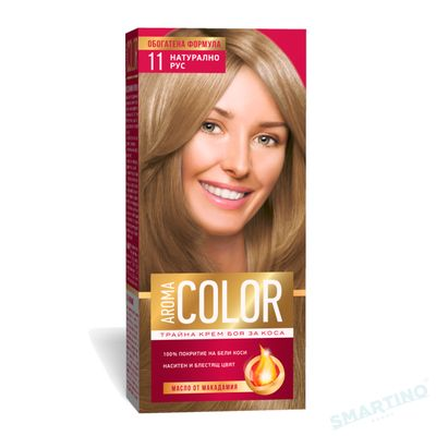 Vopsea pentru par AROMA Color 11 (blond natural) 45 ml