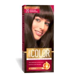 Vopsea pentru par AROMA Color 20 (cafea cu lapte) 45 ml