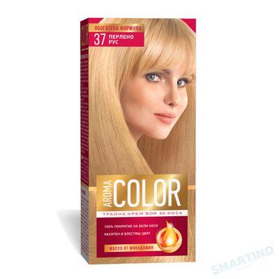 Vopsea pentru par AROMA Color 37 (blond perlat)  45 ml