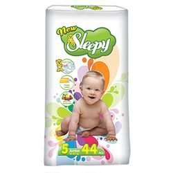 Подгузники New Sleepy Jumbo 5 Junior