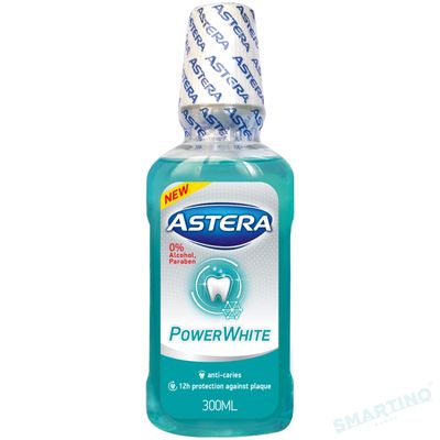 Apa de gura ASTERA Xtreme Power White 300ml