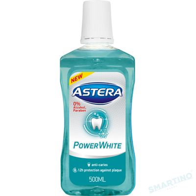 Apa de gura ASTERA Xtreme Power White 500ml