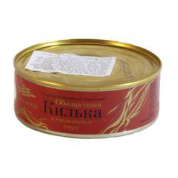 """Gingirică afumată în sos de tomate 240gr """"Amberfish"""""""