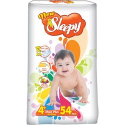 Подгузники New Sleepy Jumbo 4+ Maxi Plus