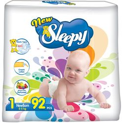 Подгузники New Sleepy Jumbo 1 Newborn