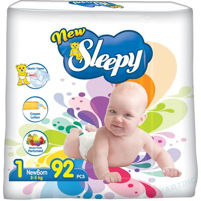 Scutece New Sleepy Jumbo 1 Newborn