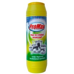 Promax praf parfumat de curatat 500g Galben