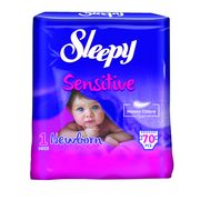 Scutece Sleepy Sensitive 1 Jumbo New Born