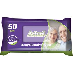 Prosoape umede Adult Actual 50 buc