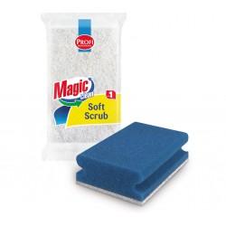 Burete Magic Clean pentru vase cu canelura PROFI SOFT SCRUB 1buc