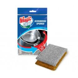 Burete Magic Clean pentru vase metalic 2buc/set