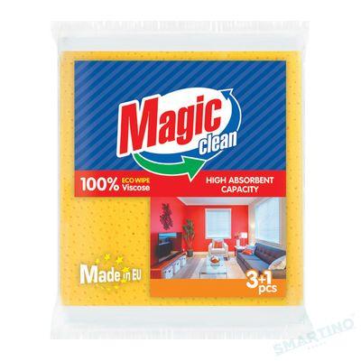 Laveta Magic Clean viscosa 34*35cm 3+1buc/set