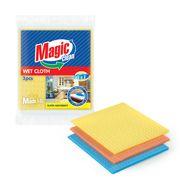 Lavete Magic Clean buretate Tripluabsorbent 18*20cm 3buc/set