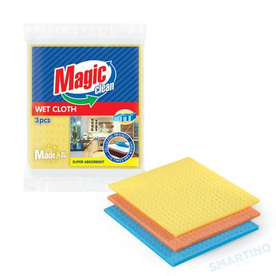 Lavete Magic Clean buretate Tripluabsorbent 18*20cm 3buc/set