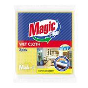 Салфетка универсальная губчатая Magic Clean Размер: M 18 х 20 см 3шт