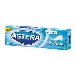 Pasta de dinti ASTERA ACTIV + WHITENIG winter mint 100ml