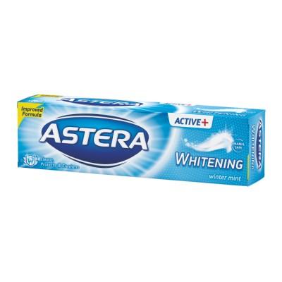 Pasta de dinti ASTERA ACTIV + WHITENIG winter mint 100ml