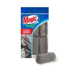 Мочалка металлическая Magic Clean спиральная Fine 6шт