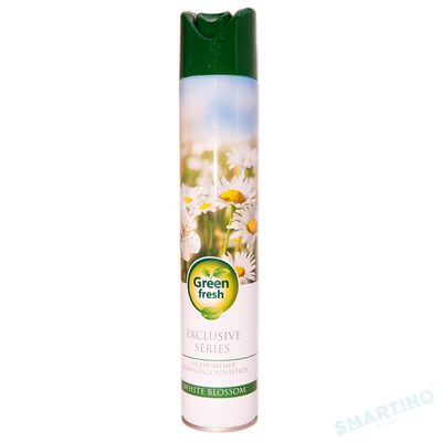 Air Freshener 400ml GREEN FRESH White Blossom