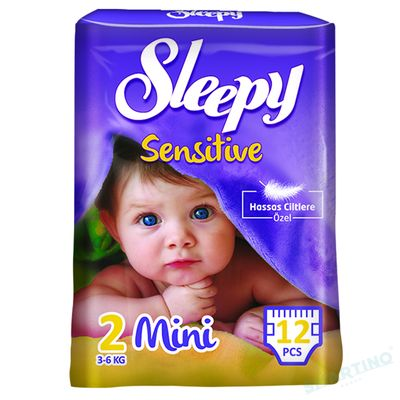 Scutece Sleepy Sensitive 2 Standard Mini