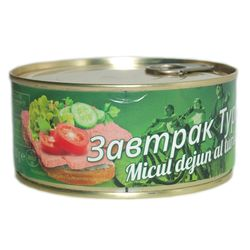Conserva MISPOL Micul dejun al turistului 300 gr cu cheie