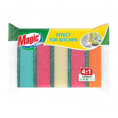 Burete Magic Clean pentru vase 5buc/set
