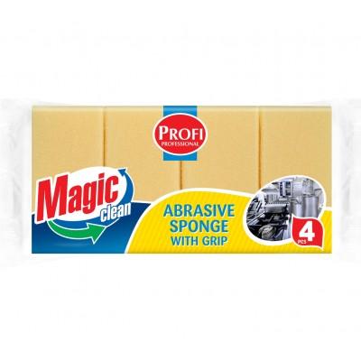 Burete Magic Clean pentru vase PROFI 4buc/set