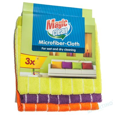 Laveta Magic Clean microfibra 3buc/set
