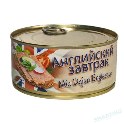 Conserva MISPOL Mic Dejun Englezesc 300 gr cu cheie
