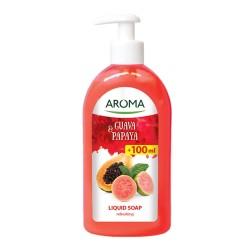 Sapun lichid AROMA Guava & Papaya 500 ml