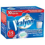 Tablete petru masina de spalat vase KALYON 15+5 buc 400gr