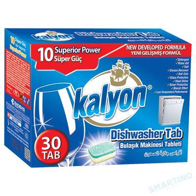 Tablete petru masina de spalat vase KALYON 30 buc 600gr