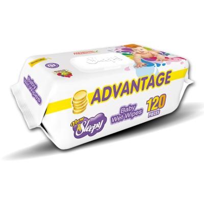Servetele umede SLEEPY 120 Advantage