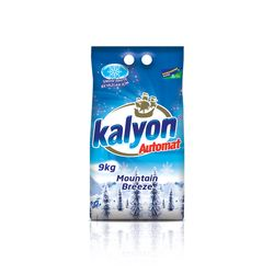 KALYON Detergent rufe 9kg Automat Snow White Mountain Breeze