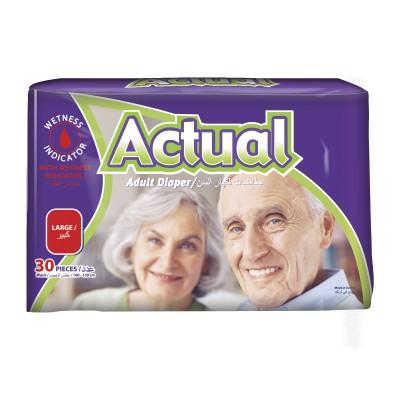 Scutece Adult Actual Double L 30 buc
