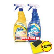 SET KALYON Degresant Baie 750ml + KALYON Degresant Bucatarie Lemon 750ml