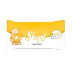 Влажные салфетки карманные SLEEPY Sensitive 15 шт