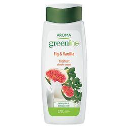 Crema de dus GREEN LINE YOGHURT Vanilla&Fig 400 ml